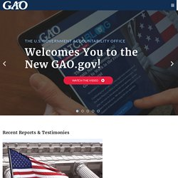 U.S. Government Accountability Office (U.S. GAO)