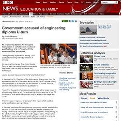 Government accused of engineering diploma U-turn