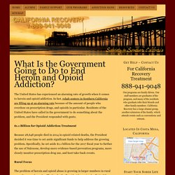 What Is the US Government Going to Do to End Heroin and Opioid Addiction?