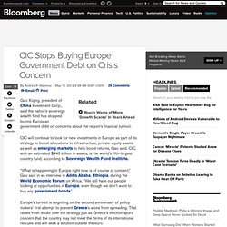 China Stops Buying Europe Government Debt on Crisis Concern | GoldSilver.com