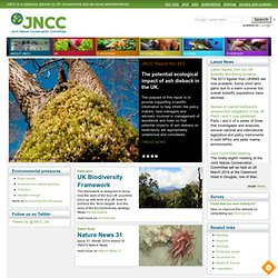JNCC - Adviser to Government on Nature Conservation
