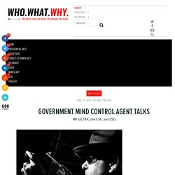 Government Mind Control Agent Talks