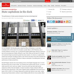 Government-controlled firms: State capitalism in the dock