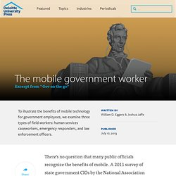 The mobile government worker – Excerpt