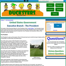 US Government for Kids: Executive Branch - President