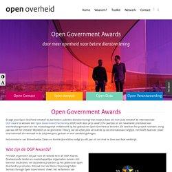 Open Government Awards - Expertisepunt Open Overheid