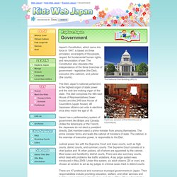 Government - Explore Japan - Kids Web Japan - Web Japan