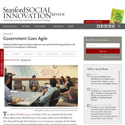 Government Goes Agile
