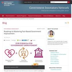 Olivier (étude de cas) Roadmap to Mastering Fact-Based Government Improvement