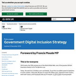 Government Digital Inclusion Strategy