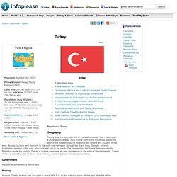 Turkey: Maps, History, Geography, Government, Culture, Facts, Guide & Travel/Holidays/Cities