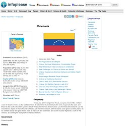 Venezuela: Maps, History, Geography, Government, Culture, Facts, Guide & Travel/Holidays/Cities