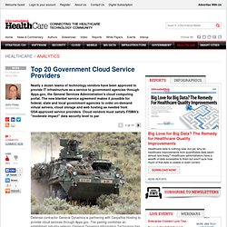 Top 20 Government Cloud Service Providers