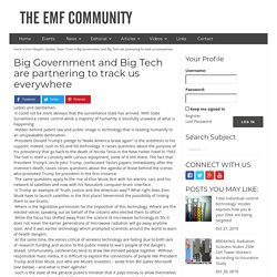 Big Government and Big Tech are partnering to track us everywhere - The EMF Community