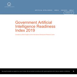 Government AI Readiness Index — Oxford Insights