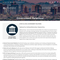 Government Relations Attorneys Phoenix Az
