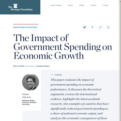 The Impact of Government Spending on Economic Growth