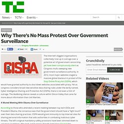 Why There's No Mass Protest Over Government Surveillance