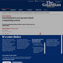 Gov cloud computing system ?