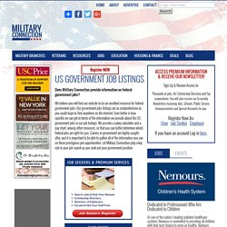 Government Jobs for Veterans