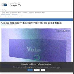 Democrazia online: come i governi stanno passando al digitale - EuroparlTV