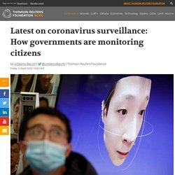 Latest: Governments step up surveillance to fight coronavirus