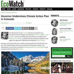 Governor Undermines Climate Action Plan in Colorado