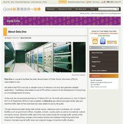 Hong kong : Données publiques / Open Data