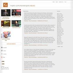 Vijay Govindarajan's Blog