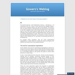 Gowers's Weblog