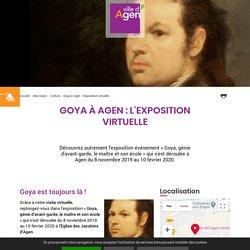 Musée des Beaux Arts - Visite virtuelle de l'expo Goya 2019-20