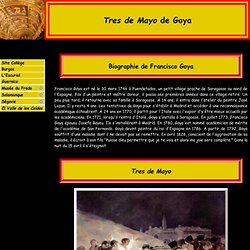 Goya et Tres de Mayo