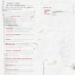 www.Gozzy's.com - Gaming Links
