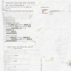 www.Gozzy's.com - Random Dungeon Map Creator