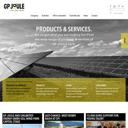 GP JOULE – TRUST YOUR ENERGY