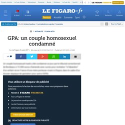 GPA: un couple homosexuel condamné