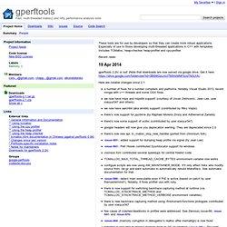 perftools - Google Code