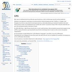 GPG — Wikilivres
