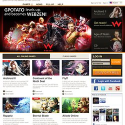 gPotato: The Free to Play MMORPG Portal | Free PC Online Games