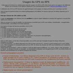 GPS en EPS