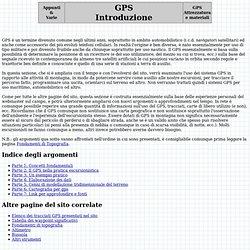 GPS - Introduzione