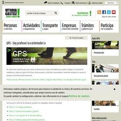 GPS - Soy profesor/a u orientador/a
