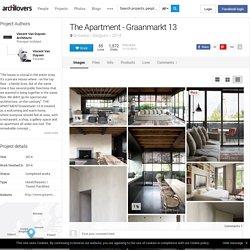 The Apartment - Graanmarkt 13, Antwerp, 2014 - Vincent Van Duysen Architects