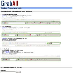 Add a GrabAll search box to your site