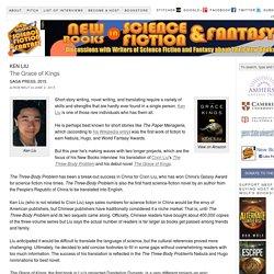 "Ken Liu, ""The Grace of Kings"" (Saga Press, 2015)"