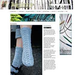 Grace sock : Knitty Winter bis 2011