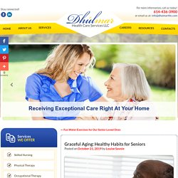 Graceful Aging: Healthy Habits for Seniors
