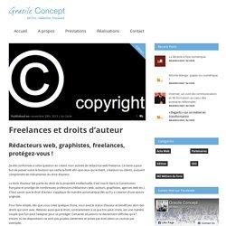 Gracile ConceptFreelances et droits d'auteur » Gracile Concept