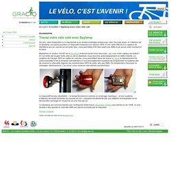 NEWS-2011-06 - Spylamp trace votre vélo volé