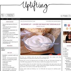 mascarponefluff – len kräm som smakar smält gräddvaniljglass